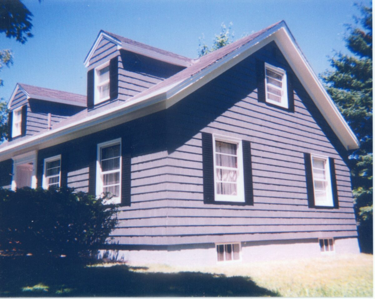 Siding example after
